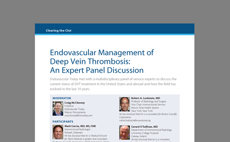 Endovascular Management of DVT