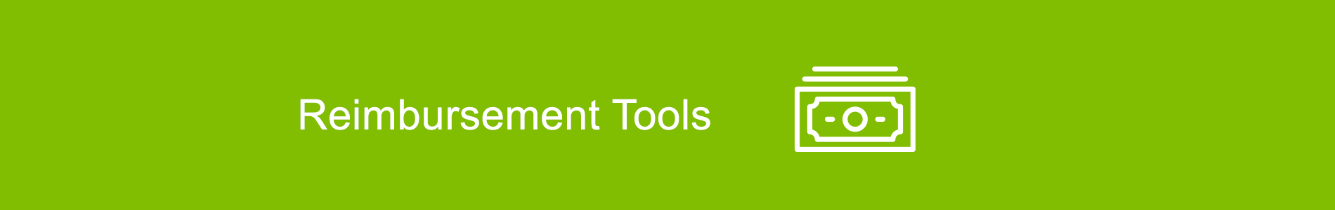 Reimbursement Tools