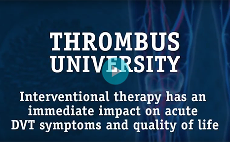 Short and Long-term Benefits of Interventional Therapy for DVT